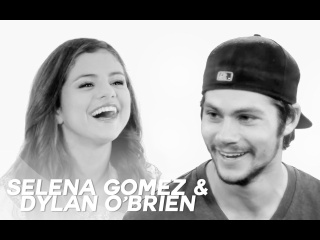 Dylan O'Brien and Selena Gomez interview for CineMax