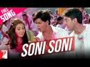 Soni Soni - Full Song (Holi Song)   Mohabbatein   Amitabh Bachchan   Shah Rukh Khan   Aishwarya Rai