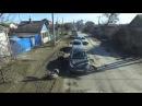 Город Волгоград с квадракопетера - дороги. Жесть