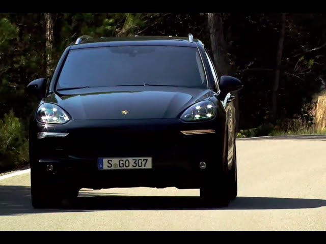 Porsche Cayenne S DIESEL 2015 Driving Interior Engine Sound 155 MPH V8 4.2 Liter Video CARJAM TV