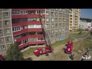 Работа МЧС. г.Светлогорск. м-н