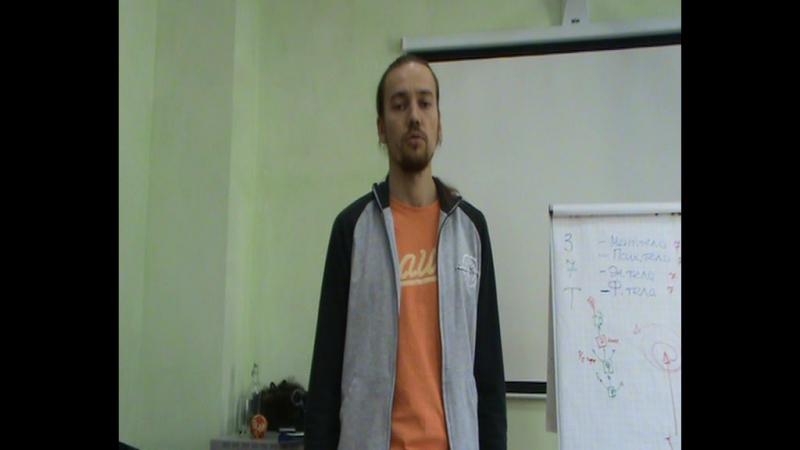 Чернядьев Илья видеоОтзыв о тренинге по системе Дмитрия Лапшинова Сварга Новосибирск