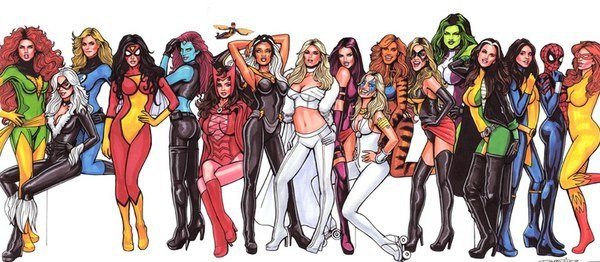 Женщины Супергерои