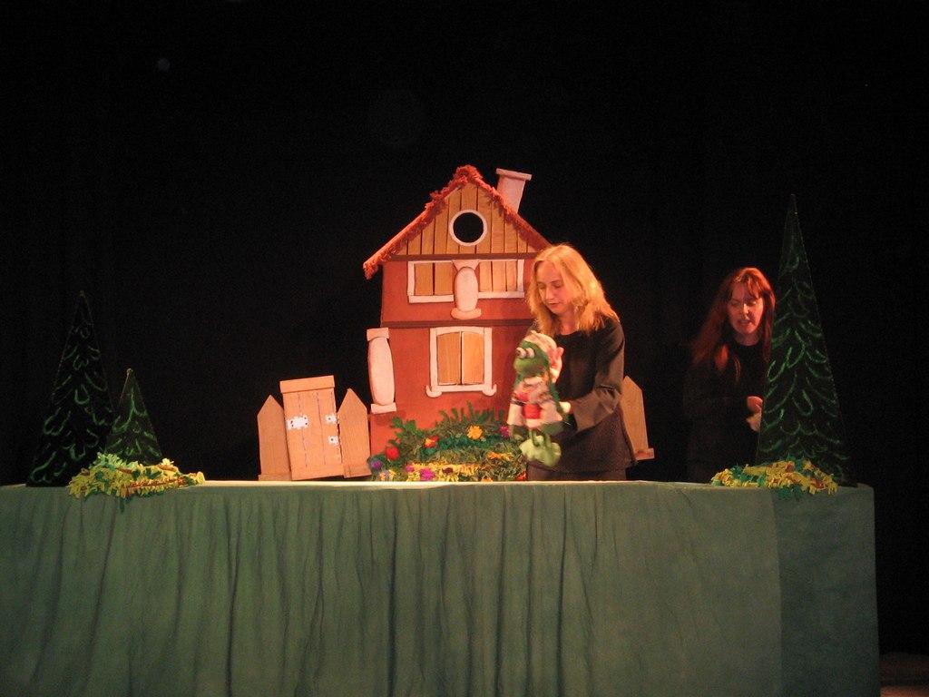 Теремок. Львівський театр І люди, і ляльки