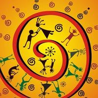 Логотип РаДо Школа ритма и пластики l Tribal Новосибирск