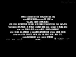 Карты, деньги, два ствола/Lock (1998) ТВ-ролик №2