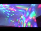 Светодиодная диско лампа