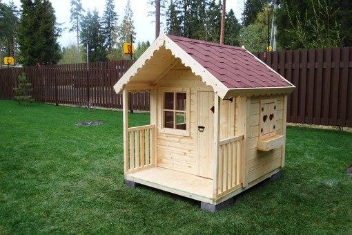 Домики из дерева для детей