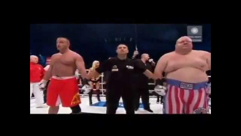 Мариуш Пудзяновский vs Эрик Эш (Баттербин) (Mariusz Pudzianowski vs Вutterbean)