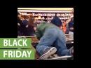 Black Friday mayhem captured in Walmart