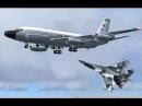 Лишь бы не нарваться на русских Пилоты ВВС США прячутся за гражданскими самолетами RC 135