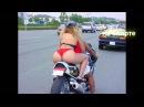 Как проехать лежачего полицейского на мотоцикле?