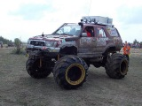 4х4 оффроад Гоним со страшной силой offroad 4x4 hard mudding deep mud full time 4wd