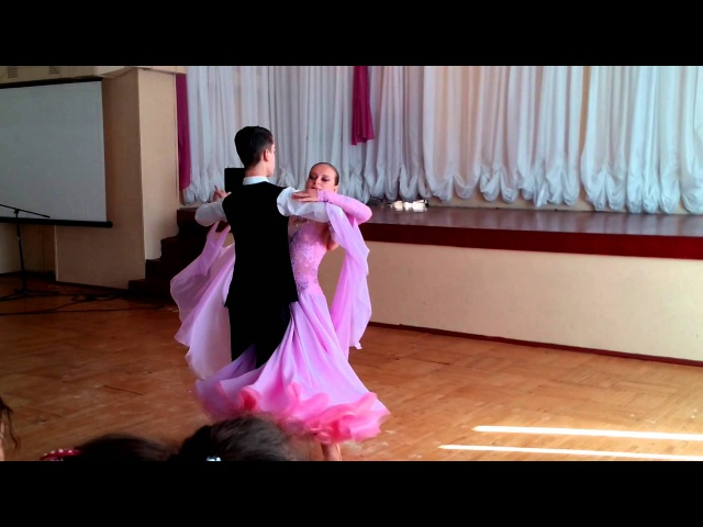 Показательный танец венский вальс.
