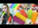 Skittles Vodka Popsicles - Tipsy Bartender