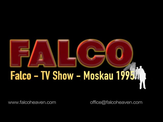 FALCO - TV Show - Moskau 1995