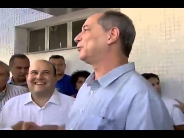 Vídeo que está rodando mundo Ciro Gomes maltrata mulher em fila de hospital