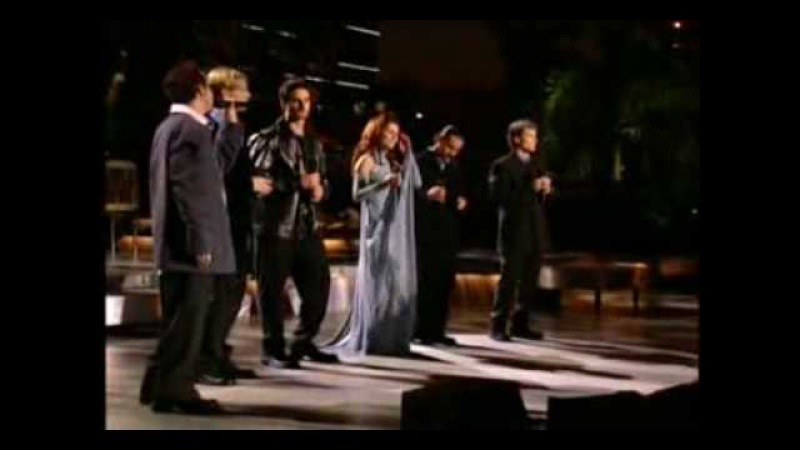 From This Moment On Shania Twain With The Backstreet Boys 1999 special