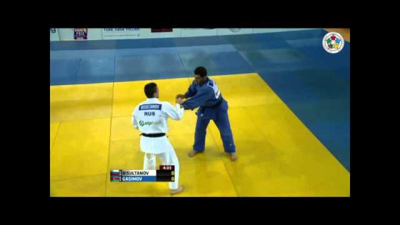 Judo Grand-Prix Samsun 2013: Adlan BISULTANOV (RUS) - Elmar GASIMOV (AZE) Final [-100kg]