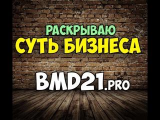 Раскрываю суть бизнеса в bmd21.pro, Бизнес модель 21 века одно из лучших что есть в сети