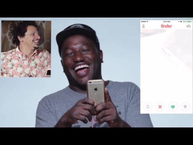 Eric André and Hannibal Buress Hijack Each Others Tinder Accounts | Vanity Fair