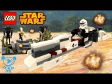 Lego Star Wars 75037 - Lego Trooper and Droids Star Wars Cartoon & Toys Review Video for Kids in 4K
