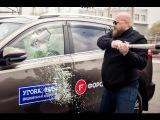 Как разбить бронированное стекло в авто