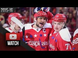 New York Rangers Vs Washington Capitals. January 17, 2016. (HD)