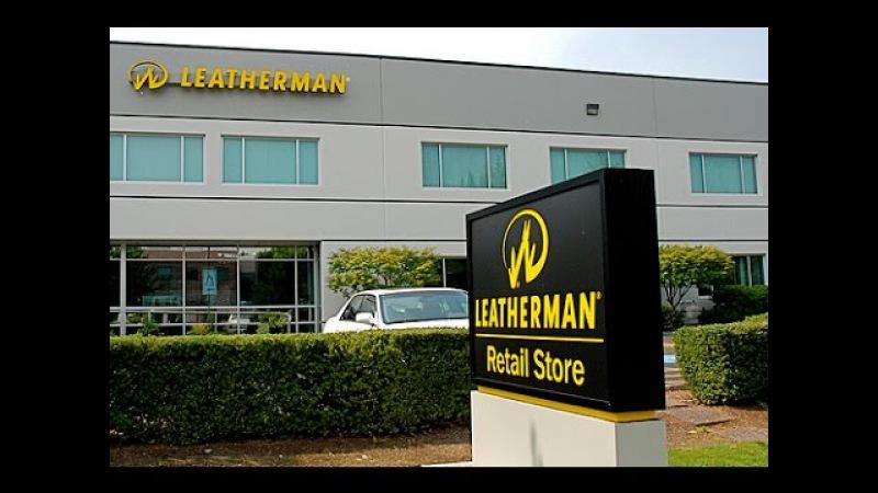 Производство мультитулов Leatherman. Made in USA.
