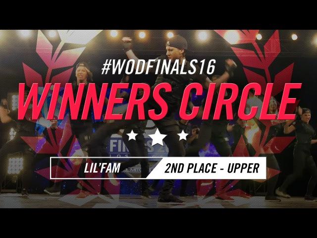 LilFam | Winners Circle (2nd Place Upper) | World of Dance Finals 2016 | WODFinals16