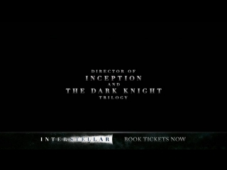 Интерстеллар/Interstellar (2014) ТВ-ролик №8