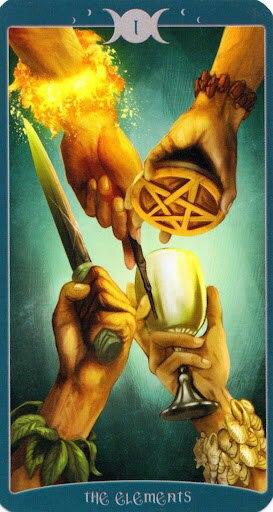 """Таро Книга Теней том 1 """"Как Наверху"""" (The Book of Shadows Tarot (Volume 1 As Above) -rqY1IAteIU"""