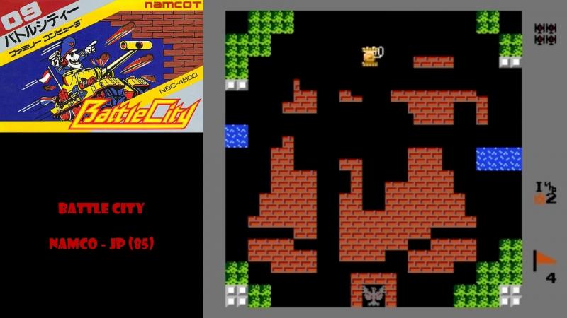 All NES Games⁄Все Игры на Денди - 4. Battle City или Super Mario Bros؟ Выбирайте сами!