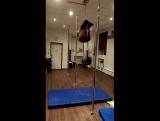 Машенька. студия танца на пилоне INSTINCT, воздушные цепи