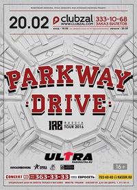 PARKWAY DRIVE (Aus) ** 20.02.16 ** С-Петербург
