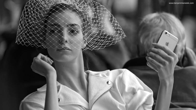 Dajana Antic in Big Day by Benjamin Kanarek for Harpers Bazaar