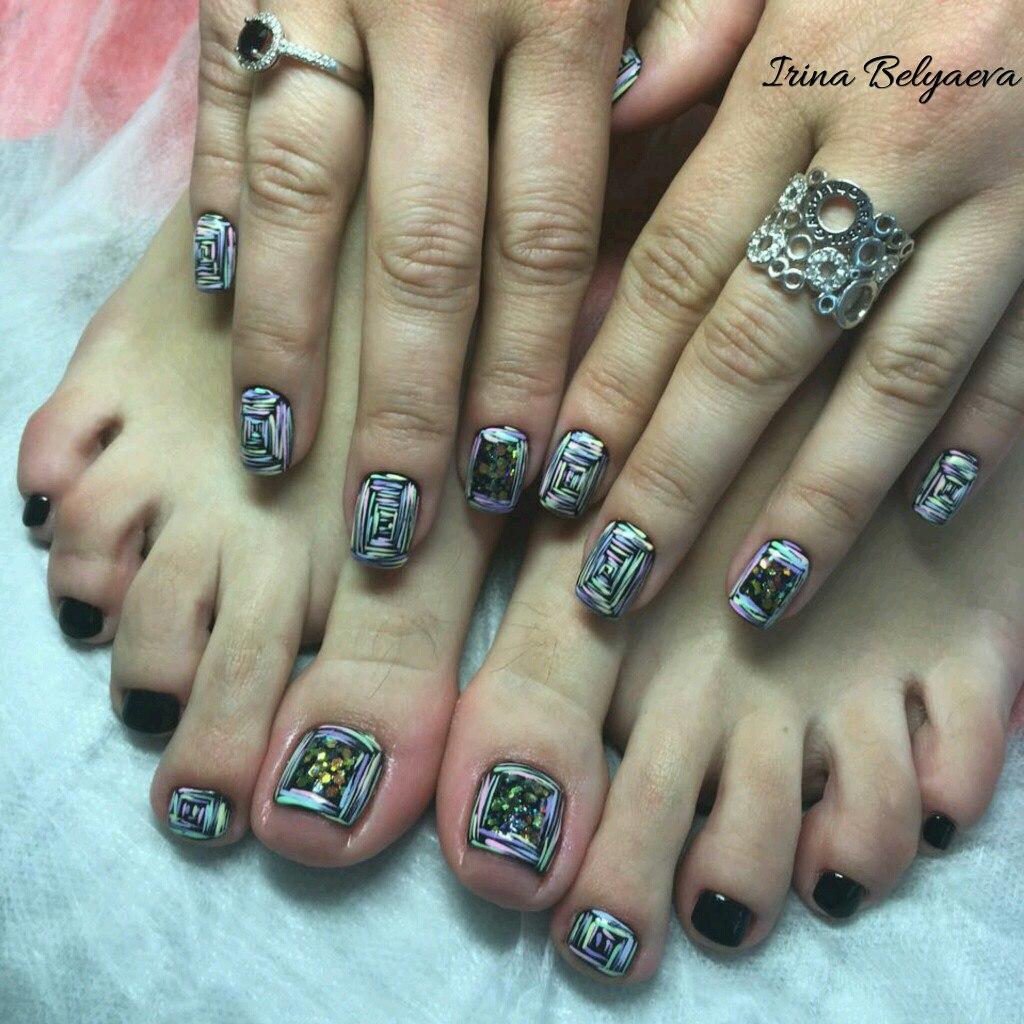 Студия маникюра парк победы nail