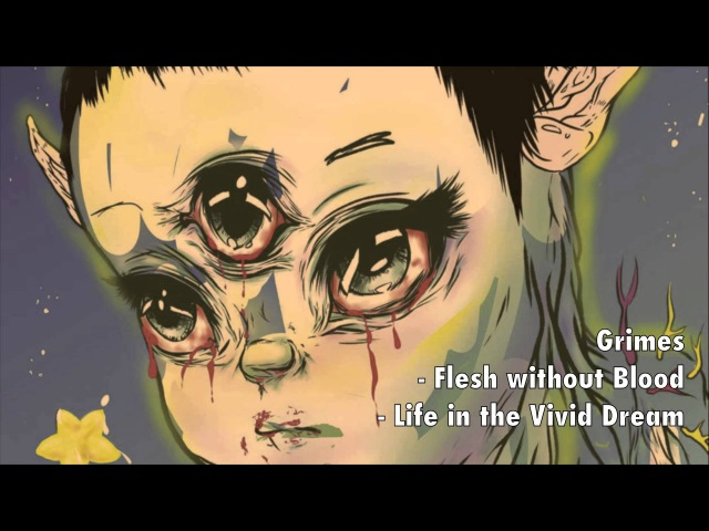 Grimes - Flesh without Blood/Life in the Vivid Dream | Orchestral Instrumental | Strings and Piano