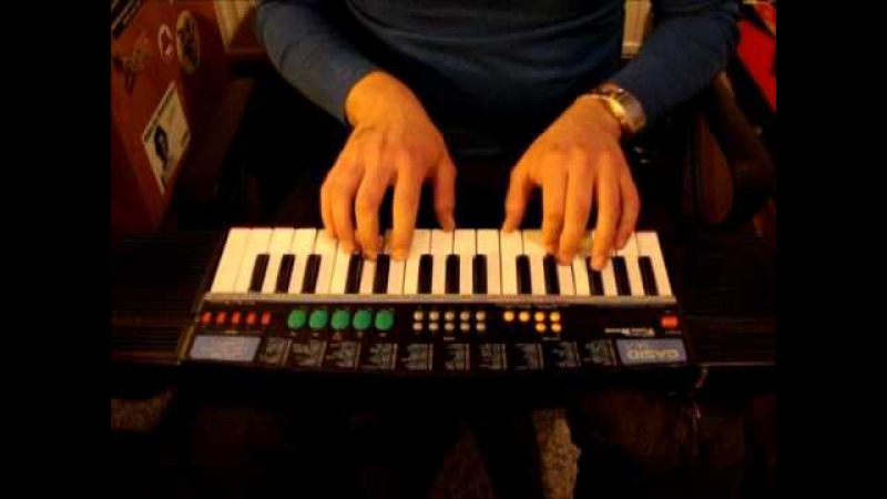 JayB and his Casio SA-21