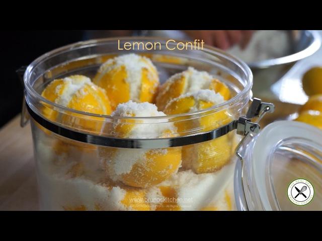 Lemon Confit Recipe – Bruno Albouze – THE REAL DEAL