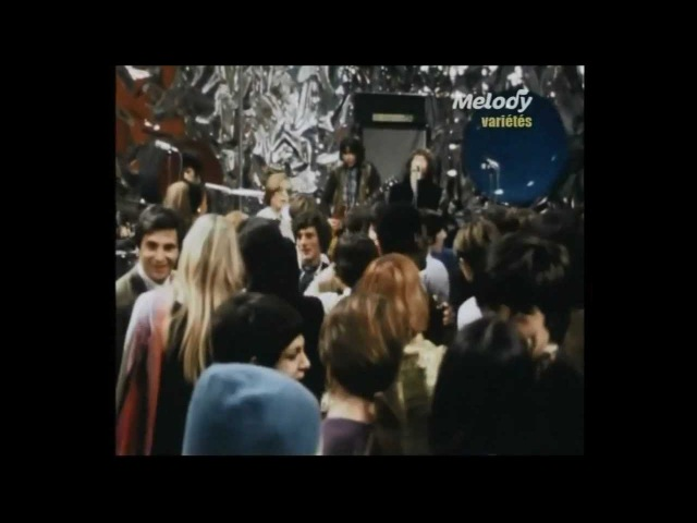 Les Variations. New Year's Eve party on french tv 31dec.1968