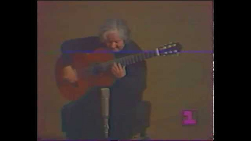 Rare Guitar Video: María Luisa Anido
