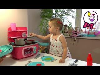 Играем с игрушкой ItsImagical. Готовим на детской игрушечной кухне. Play children's toy kitchen