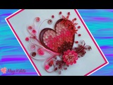 How to make DIY  Paper Quilling DESIGNS - Art  Heart designs  Ideas Tutorial !