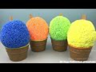 Foam Clay Ice Cream Cups Surprise Toy Teletubbies