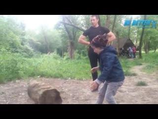 Nikita little strong man