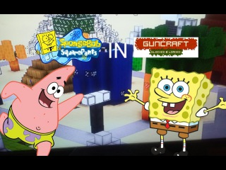 Radically Random Gaming: Spongebob in Guncraft! (Guncraft: Blocked and Loaded w/ RadicalOne95)