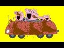 Пеппа и Джордж моют папину машину! Мультик Свинка Пеппа. Новые серии на русском языке. Peppa Pig.