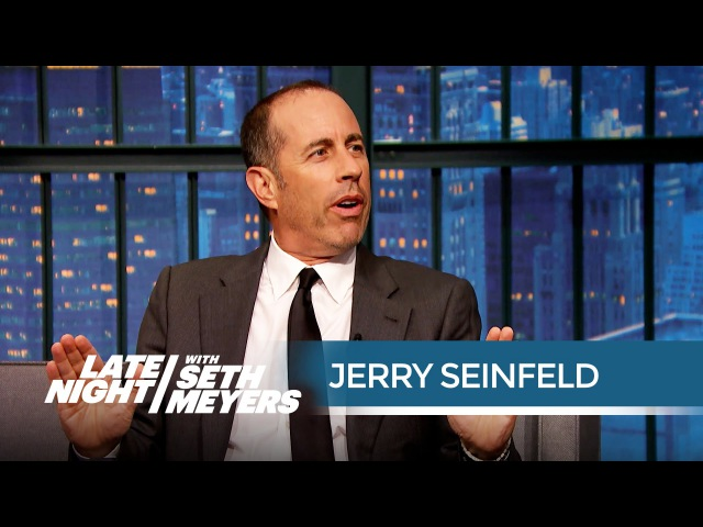 Jerry Seinfeld Is Tired of Political Correctness - Late Night with Seth Meyers