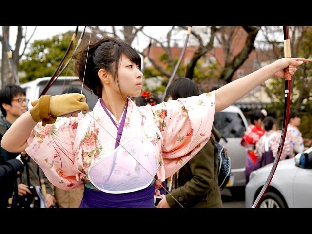 通し矢 大的全国大会 三十三間堂 京都観光 Moments in Kyoto - Toh-shiya | Archery Contest Sanjyusangendo Kyoto Japan